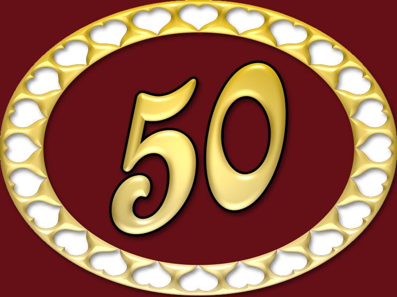 Goldene Hochzeit Ja 50 Jahre Sind Ein Grund Zum Feiern